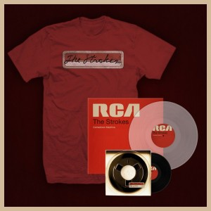 The Strokes - Comedown Machine - Pack Clear Vinyl