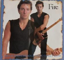 Bruce Springsteen - FireSingle - Cover