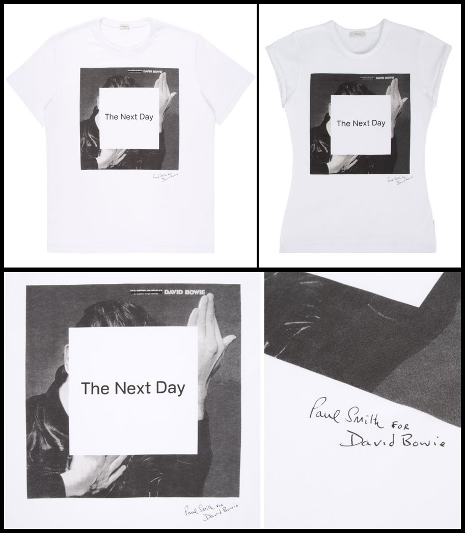 David Bowie - Paul Smith - T Shit - The Next Day