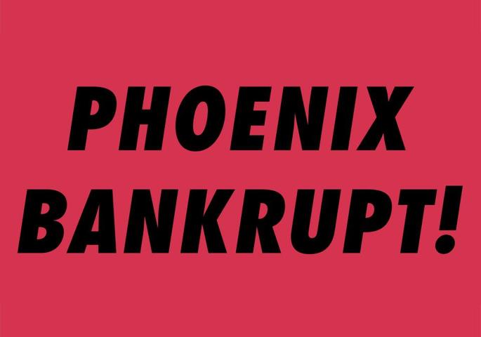 Phoenix - Bankrupt!-Red
