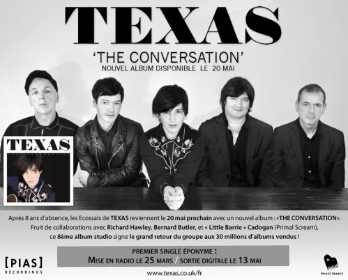 Texas - The Conversation - Pias