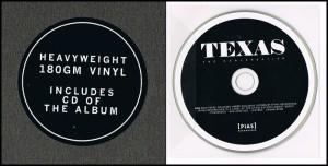 texas - the conversation - sticker-cd - vinyl