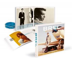 Jacques Brel- Suivre L'etoile - Intégrale 21 CD - Cover
