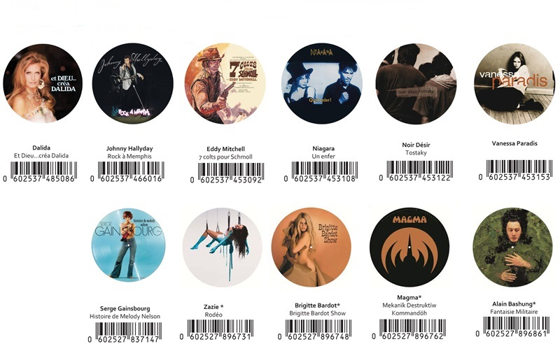 Picture Disc - Universal - 11 Ref