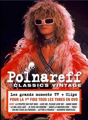 Michel Polnareff- Classics Vintage - Cover