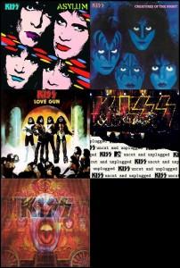 KISS - 5 LP Vinyl 180 gr