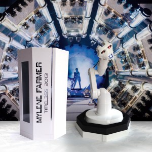 "Mylene Farmer - coffret collector Robot ""Timeless 2013 -Le Film"""